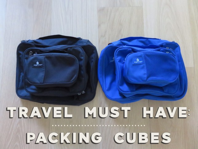 Travel must have: Packing Cubes
