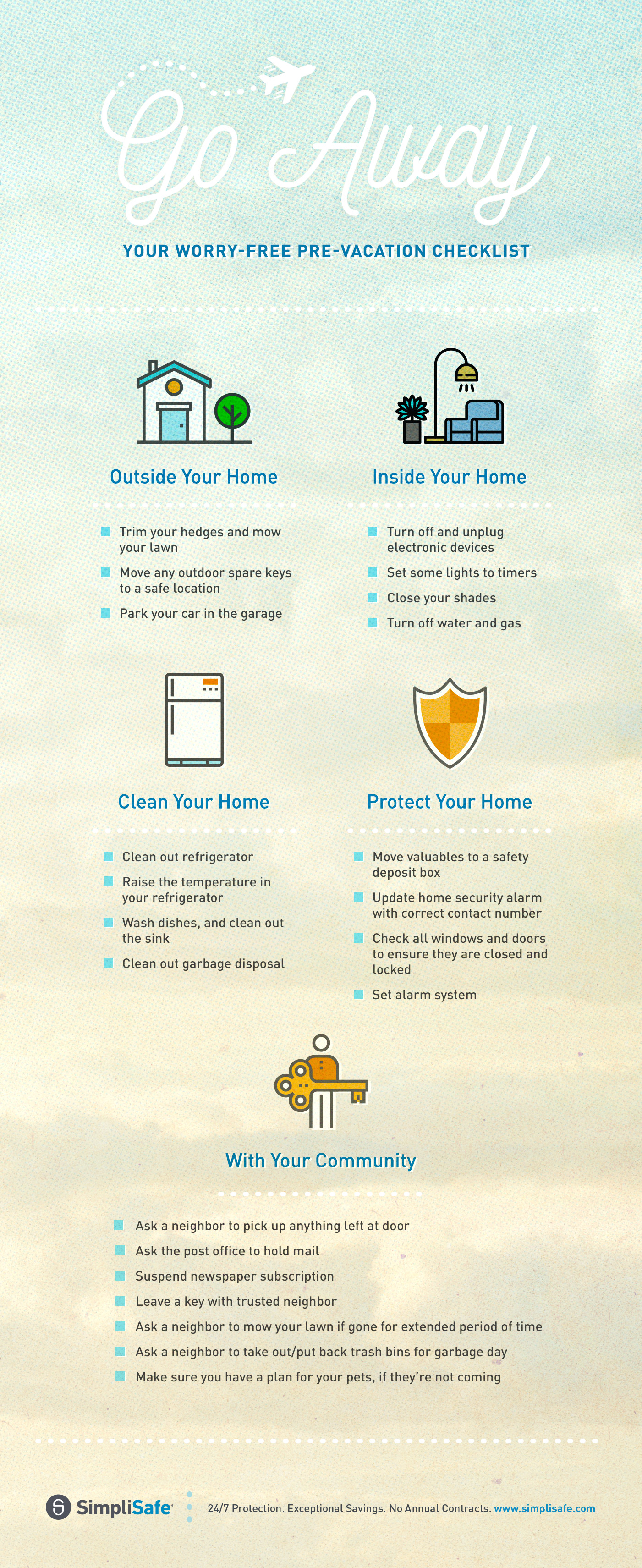 keep your home safe while traveling